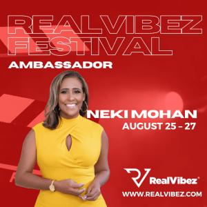 Neki Mohan Named Festival Ambassador For RealVibez Film Festival 2021