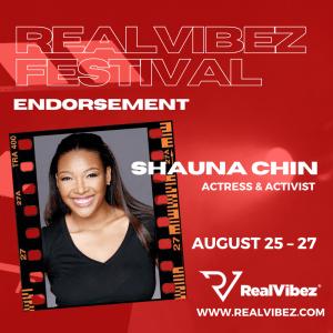 Jamaican Actress and Goodwill Ambassador Endorses RealVibez Film Festival